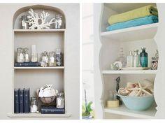 Pretty display shelf ideas