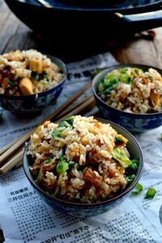 Cantonese Chicken & Salted Fish Fried Rice - The Woks of Life Fish Fried Rice Recipe, Fried Fish, Rice Recipes, Asian Recipes, Cooking Recipes, Healthy Recipes, Indonesian Recipes, Cooking Food, Masterchef