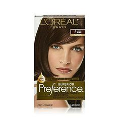 Loreal Superior Preference  5 Medium Brown Pack of 3 -- See this great product.