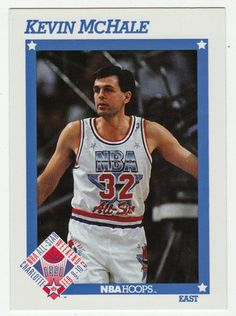 Kevin McHale # 255 - 1991-92 Skybox Hoops Basketball