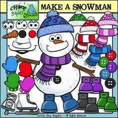 Win a Make a Snowman Clip Art Set!! Enter for your chance to win 1 of 2. Make a Snowman Clip Art Set - Chirp Graphics  (70 pages) from Chirp Graphics on TeachersNotebook.com (Ends on on 11-29-2015) This Make a Snowman clip art set is packed with 70 images including the colour, blackline, and black and white versions.  You and your students can create a wide variety of snowmen for a huge assortment of art projects, roll a snowman games, literacy activities & more!  Enter to win!   .