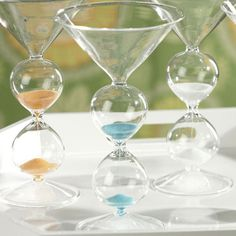 I pinned this Five Minute Hourglass Martini Glass from the Zodax event at Joss and Main!