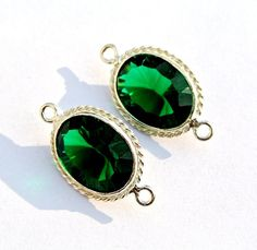 Chrome Green Quartz Concave Cut Oval Gemstone by RareGemsNJewels