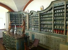 Laurin's dream herb pantry