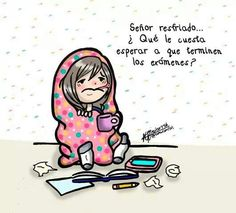 Examenes Feeling Sick, How Are You Feeling, Autumn Illustration, Grammar Book, Cute Love Cartoons, Just Girly Things, Flu Season, Queen Quotes, Pictures To Draw