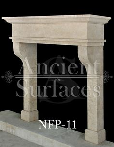 New Hand Carved Stone Fireplace Mantels out of French Limestone by Ancient Surfaces Part 1