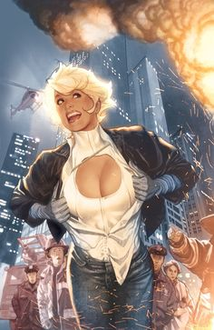 Just Say AH! :: Misc. DC Comics Covers and Art :: Powergirl #1