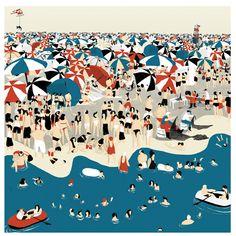 """The Beach"" by Sol Undurraga."
