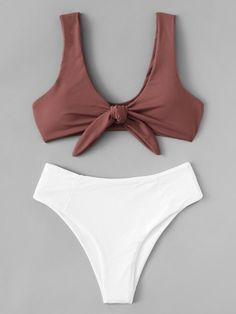 2020 Women Swimsuits Bikini 2 Piece Swimsuits To Hide Tummy Mens Swim Shorts Lemon Swimsuit One Piece Luxury Beachwear Resort Wear Bathing Suits For Teens, Summer Bathing Suits, Swimsuits For Teens, Cute Bathing Suits, Women Swimsuits, Cheeky Swimsuits, 2 Piece Swimsuits, Mode Du Bikini, Bandeau Bikini Set