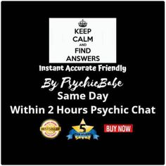 Affordable Eye-Opening Same Day Psychic Instant TEXT Messaging CHAT through WhatsApp, Messenger, or Skype. Unlimited Questions 10-minute chat, giving 100 words on average.  Not a phone, video, email, or mp3 reading. This reading is truly authentic and is different each time you have a new reading.  I am a highly sought after accurate psychic who works across multiple sites.#onlinepsychic #angelreadings #psychi #Clairvoyant reading #spiritual readings / #Fortune teller online