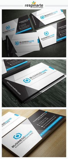 Corporate Business Card - RA18 by Respinarte