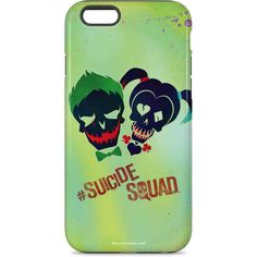 Joker and Harley Skull Print iPhone Cases. Shop now at www.skinit.com #iPhoneCase #SuicideSquad #HarleyQuinn #Joker