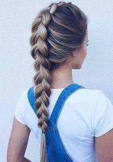 Menina Brasileira : Penteados para ir a escola