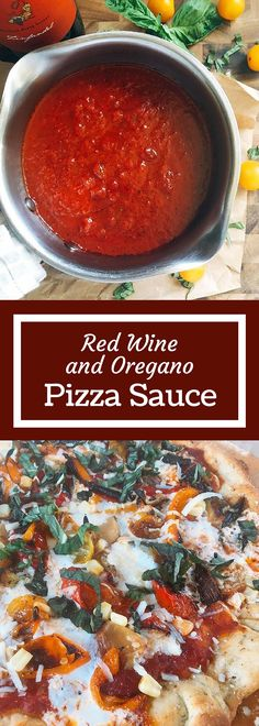oregano pizza sauce ready in just 15 minutes this red wine and oregano ...