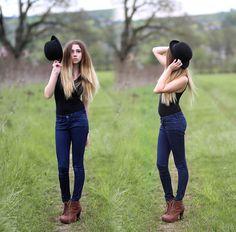H&M Hat, H&M Top, Bershka Pants, Boots