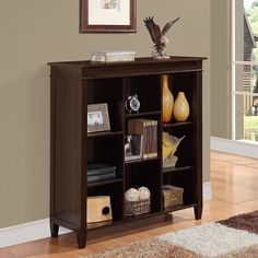 Simpli Home Carlton 9-Cube Storage Organizer Dark Brown & Better Homes and Gardens 9-Cube Organizer | Getting Organized ...