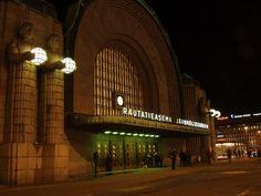 Rautatieasema Helsinki Finland