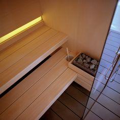 Sistema sauna e hammam Logica - Effe Steam Sauna, Steam Bath, Steam Room, Laundry Room Bathroom, Bathroom Layout, Basement Bathroom, Home Spa Room, Spa Rooms, Spa Design