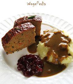 Pasztet warzywny fit bezglutenowy Meatloaf, Bon Appetit, Gluten Free Recipes, Free Food, Vegetarian, Vegan, Burgers, Wordpress, Book