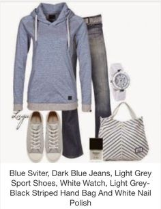 Relaxing with class...blue and gray hues to create calmness