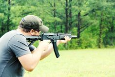 9mm Integral AK build at the Quiet Riot Firearms suppressor shoot. Yep, you read that right. 9mm integral AK build.