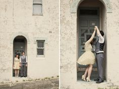 Playful Vintage Wedding: Lauren + Tony