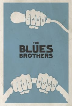 The Blues Brothers by Matt Owen - Graphic Design - Cinema, film - Minimal movie poster