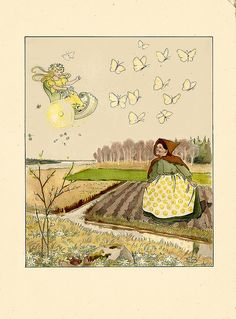 Elsa Beskow #illustration