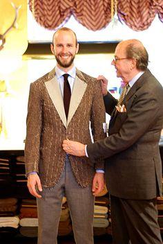 Rubinacci cashmere jacket 4: first fitting - Permanent Style