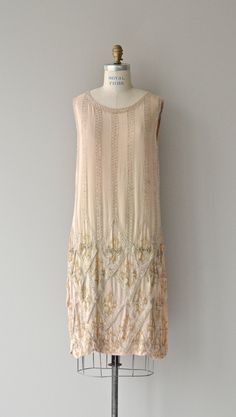 Loire Valley dress vintage 1920s dress beaded 20s by DearGolden Vintage  Flapper Dress 1031be7bc