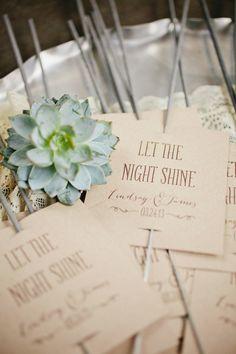 Wedding Sparklers | Photography: Kristyn Hogan -