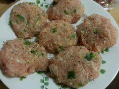 Ground chicken, jalapeños, Lime, cilantro burgers. Very tasty. Pinned under #paleo dinner board