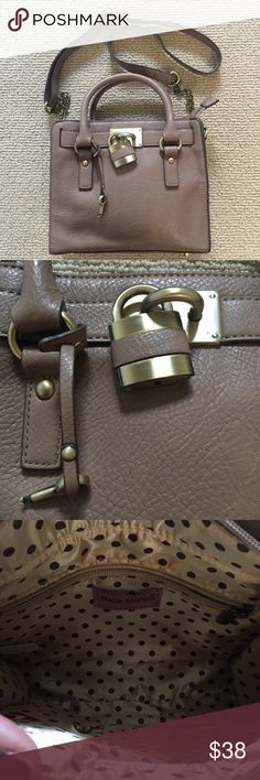 Melie Bianco Hamilton bag Dupe for the famous Michael Kors. Only used once, realized I prefer larger bags. Exceptional condition, looks brand new. Melie Bianco Bags Crossbody Bags