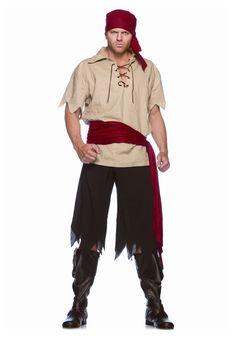 Pirate Costumes for men | Men's Cutthroat Pirate Costume...Timmy?
