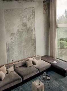 Carta da parati effetto muro TAPIÉ by Wall&decò design Draga Obradovic, Aurel K. Basedow