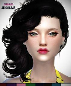 Jenni Sims: Earrings Tifanny • Sims 4 Downloads