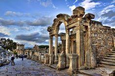 Templo de Adriano, Éfeso, Turquia