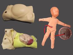 Modern obstetric training models courtesy of Clinical Skills Centre, University of Dundee