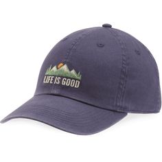Men's Life is Good Mountains Chill Cap | Life is Good® Official Site