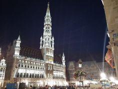 유럽 야경의 절정은? #벨기에 #그랑플라세