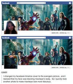 Hawkeye must ALWAYS be fabulous