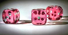 Translucent Pink #d6 #16mm #chessex #chessexdice #dice #dicecollector #rpg…