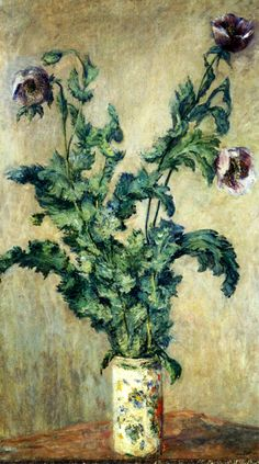 Purple Poppies 1883 Claude Monet