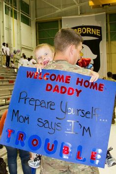 16 best welcome home daddy images on pinterest welcome home daddy