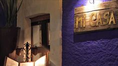 Mi Casa in San Jose del Cabo serves traditional Mexican cuisine in a beautifully decorated old Spanish colonial building that used to be a private hacienda. San Jose Del Cabo, Mexican Artwork, Cabo San Lucas Mexico, Famous Art, Spanish Colonial, Old Town, Candle Sconces, Fun Activities, Wall Lights