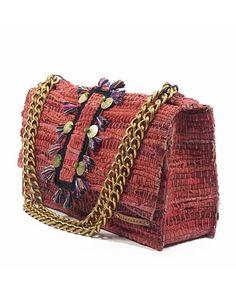 11689779ea Kooreloo shoulder bag made from traditional weaved leather