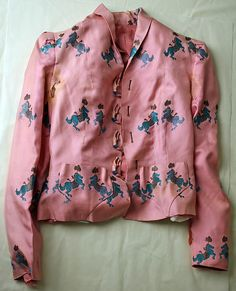 Blouse (image 1) | House of Schiaparelli | French | 1937 | rayon | Metropolitan Museum of Art | Accession Number: C.I.50.34.4