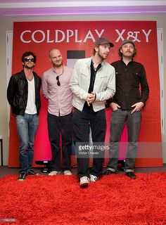 Guy Berryman, Jon Buckland, Will Champion and Chris Martin of Coldplay