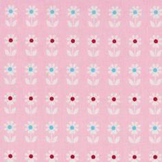 retro flower pink