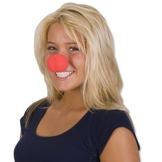Foam Rubber Clown Noses, perfect for dress up, a photo op, or just when you feel like wearing a clown nose! Great for a Clown or Carnival party photo booth. $.45 each, $3.79 per dozen. http://www.partypalooza.com/Merchant2/merchant.mvc?Screen=PROD&Product_Code=ClownNose